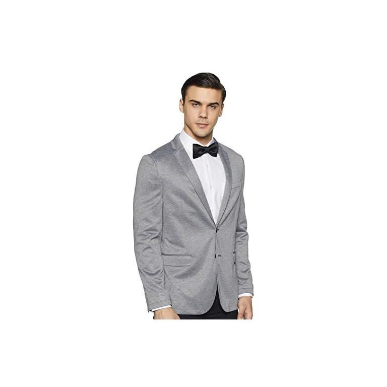 41mbAxo%2BgvL. SS768  - Peter England Men's Slim fit Blazer
