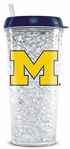 - Michigan Wolverines Crystal Freezer Travel Tumbler--(Package of 2)