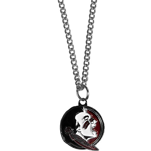 - Siskiyou NCAA Florida State Seminoles Chain Necklace with Small Pendant, 20