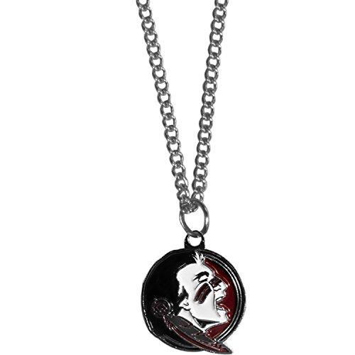 Pendant Seminoles Fsu (Siskiyou NCAA Florida State Seminoles Chain Necklace with Small Pendant, 20