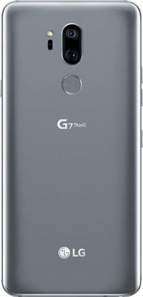 LG G7 ThinQ GSM Unlocked LGG710 w/ 64GB Memory Cell Phone 4G LTE - US Version - Platinum Gray