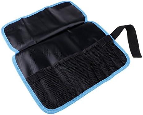 Flameer 釣り袋 収納袋 ジグ ルアーバッグ PVC 12穴 治具保管 大容量 便携 防水 通気性