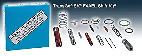 transgo f4ael 4eat-f transmisión Válvula cuerpo Kit de cambio