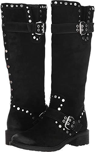 Sam Edelman Women's Deryn Knee High Boot, Black Suede, 8.5 M US