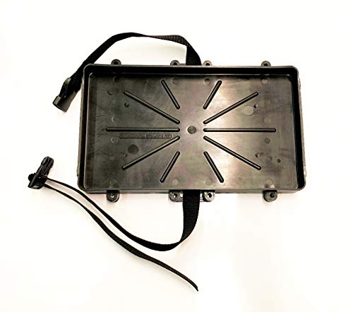 (Automotive, Marine, Boat, RV Battery Tray - Group 27 Series With Strap, Battery Holder (27)