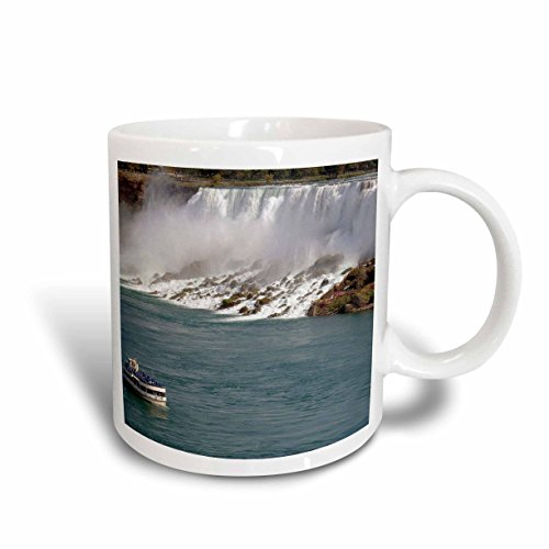 3dRose mug_74010_2 Canada, Ontario, Niagara Falls Maid of The Mist Boat Lynn Seldon Ceramic Mug, 15 oz, - Outlet Ontario Niagara Falls