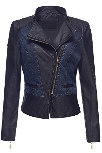 Denim Moto Jacket - 6