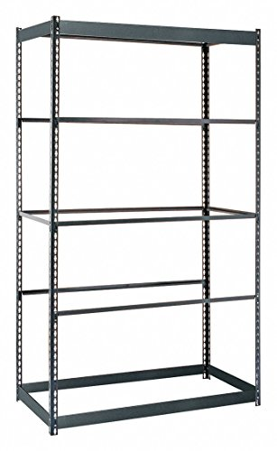 Edsal RS1505 Rivet Lock Boltless Shelving, 5 Levels, 300 lb. Capacity, 48