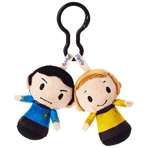 Hallmark Star Trek Mr. Spock and Captain Kirk itty bittys Clippys Stuffed Animals Itty Bittys Movies & TV; Sci-Fi
