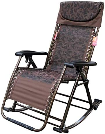 ZAIHW Silla Mecedora Zero Gravity Patio Sillas Jardín Exterior Reclinado Plegable Tumbonas portátiles Oficina Playa Home Lounge Chair (Color : A): Amazon.es: Hogar