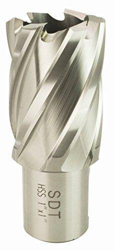 "Steel Dragon Tools® 7 HSS Annular Cutter Kit 1/"" Depth 9//16/"" to 1-1//16/"""
