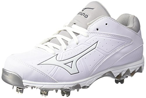 Mizuno Womens 9-spike Swift 4 Softball-scarpe Bianche