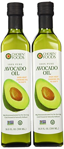 Chosen Foods Avocado Oil 500ml Bottle 12-Pack by Chosen Foods