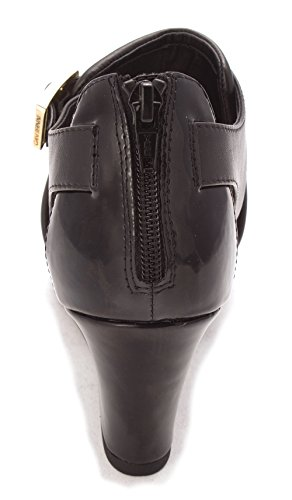 Giani Bernini Womens Alyssaa Leather Peep Toe Casual Platform Sandals Black wND6L414fI