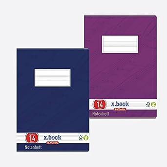 DIN A4 Lineatur 21//liniert Herlitz 3321403 Schulheft