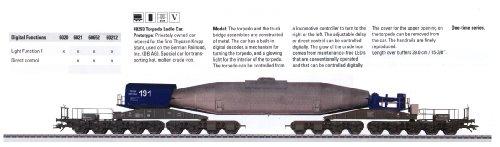 2008 DB AG Torpedo Ladle Car (L) -  Marklin, 48293