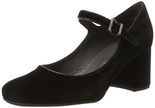 944 Heels Nappa Peter Kaiser Schwarz Black Carrih Women's Velvo Toe Closed wavqf