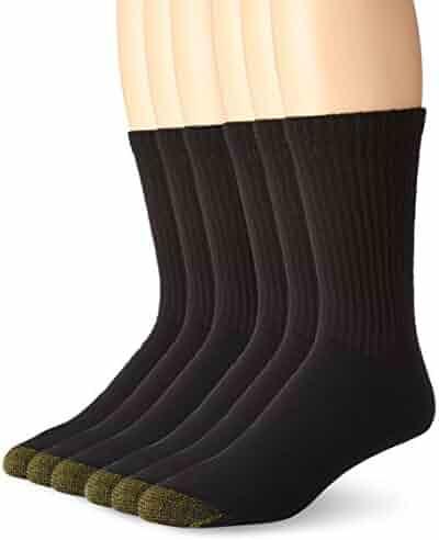 Gold Toe Men's 6-Pack Cotton Crew Athletic Sock