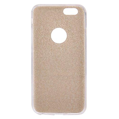 Phone Taschen & Schalen Für iPhone 6 & 6s Glitter Powder Soft TPU Schutzhülle ( Color : Gold )