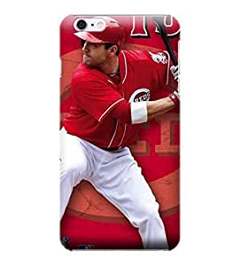 For Iphone 6 Plus Phone Case Cover hock Proof Case,MLB Joey Votto Hard Back Shell Case Compatible For Iphone 6 Plus Phone Case Cover