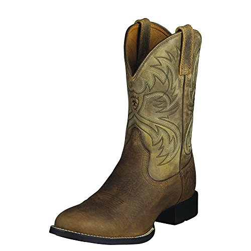 Ariat Western Boots Mens Cowboy Heritage Horseman Earth 1000