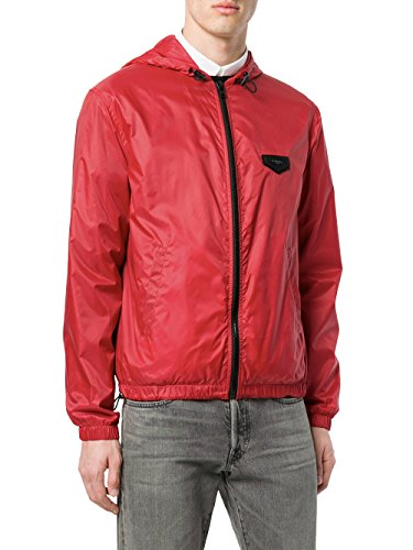 Givenchy Men's Bm002v1014600 Red polyamide Outerwear - Red Givenchy