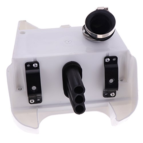 H HILABEE White Air Box Filter Assembly For Yamaha Peewee 80 Y-zinger PW80 Bike: