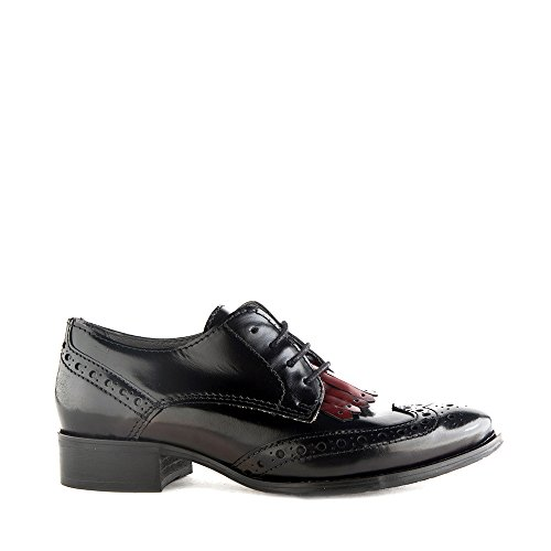 Felmini - Zapatos para Mujer - Enamorarse com Tanger 8966 - Zapatos Derby - Cuero Genuino - Varios colores - 0 EU Size Varios colores