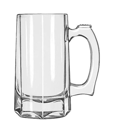 Libbey Glassware 5206 Stein, 12 oz. (Pack of 12)