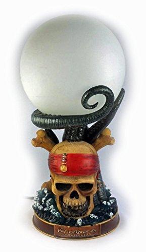 Disney Pirates of the Caribbean Skull Table Lamp