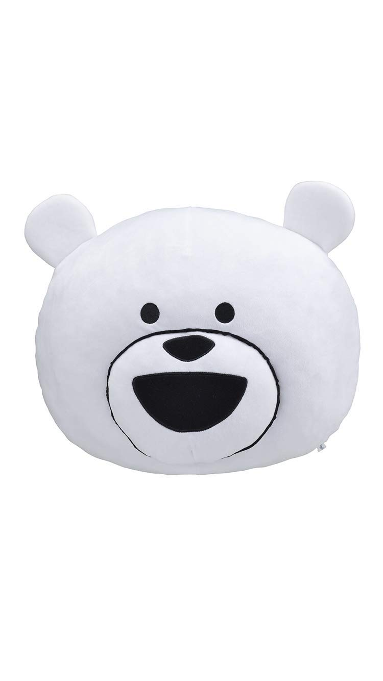 SEGA Ketatamashiku Move Bear Premium Motchiri Big face Cushion 40cm Japanese
