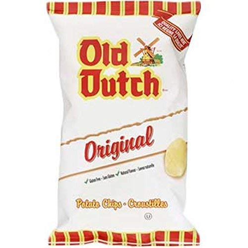 Old Dutch Original Potato Chips, One Large Bag, Imported from Canada - Dutch Potatoes