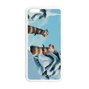 Cutomize Ice Age Ultimate Protection Scratch Proof Case TPU Skin for iphone 6plus 5.5 Cover inch