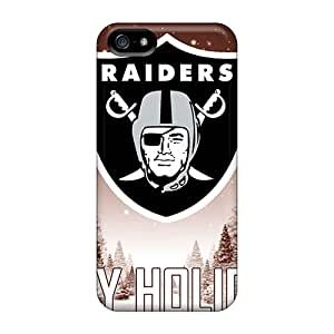 CharlesPoirier Iphone 5/5s Protector Hard Cell-phone Case Support Personal Customs Attractive Oakland Raiders Image [PVO18463wxQI]