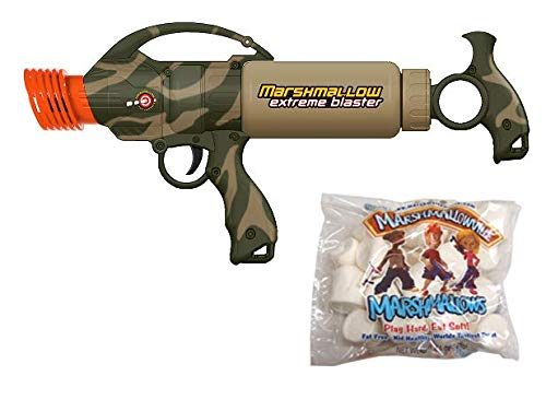 Camo Extreme Blaster with 1 Bag of Marshmallows