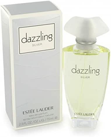 Dazzling Silver By Estee Lauder For Women, Eau De Parfum Spray, 2.5-Ounce Bottle