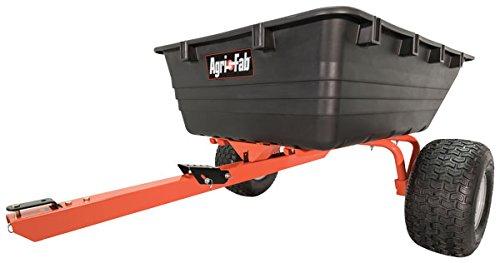 Swivel Dump Cart (Agri-Fab 45-0529 Atv Swivel Dump Cart, 17 cu. ft. , Orange/Black)