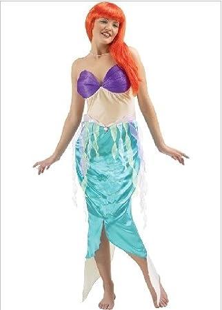 Rubies 85816 disfraz de la sirenita ariel m: Amazon.es: Juguetes y ...