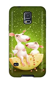 Best Humor Cartoon Feeling Galaxy S5 On Your Style Birthday Gift Cover Case 5149365K70835724