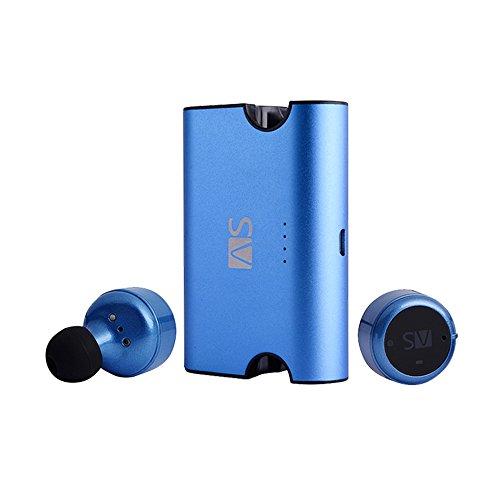 AS X2T+ Wireless Bluetooth Earbuds Dual Stereo Earphones, In