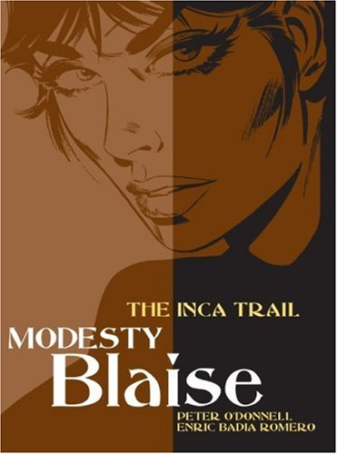 Modesty Blaise: The Inca Trail (Modesty Blaise (Graphic (Funny Cartoons About Halloween)