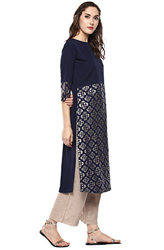 Indian for Women Janasya Crepe Tops Tunic Kurti Women Tops for Kurti Tunic Janasya Indian Crepe XwAxqnFtnO
