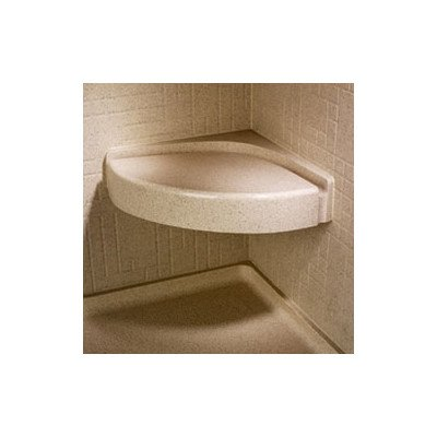Corner Shower Seat Finish: Tahiti Ivory (Seat Bath Swanstone)