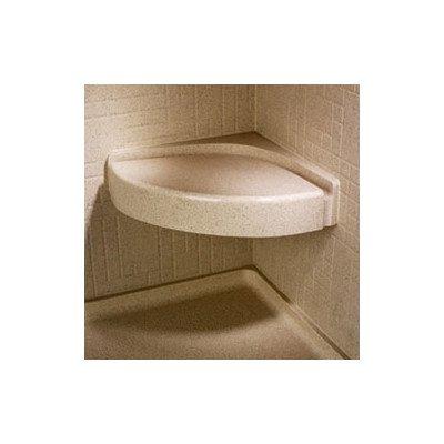 Corner Shower Seat Finish: Tahiti Ivory (Swanstone Bath Seat)