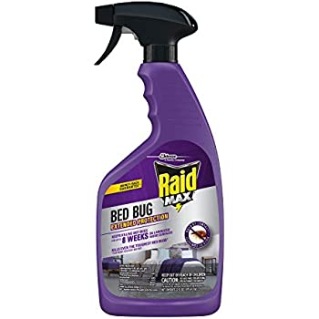 Amazon Com Raid Max Bed Bug Amp Flea Killer I 17 5 Oz