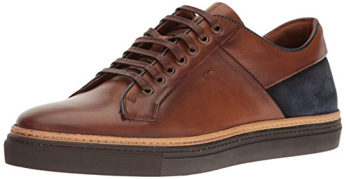 Kenneth Cole New York Menns Prem-ise Mote Sneaker Cognac
