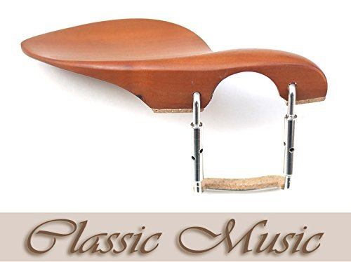 Classic Music Boxwood Chinrest for Viola (15'-16.5'), with Metal Installed