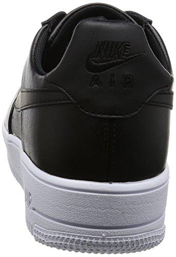 NIKE Herren Air Force 1 Ultraforce Leder Basketballschuh Schwarz / Schwarz / Weiß