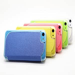 Two Sided Oracle Bone Grain Protector Leather Case For iPhoen 5C