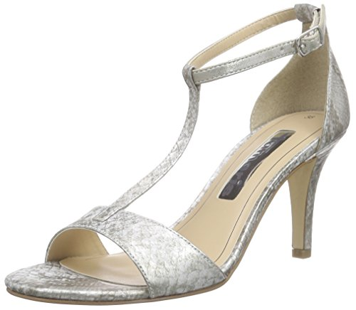 Tamaris 28392 - Sandalias de vestir de material sintético para mujer Gris - Grau (GREY STRUCTURE 228)
